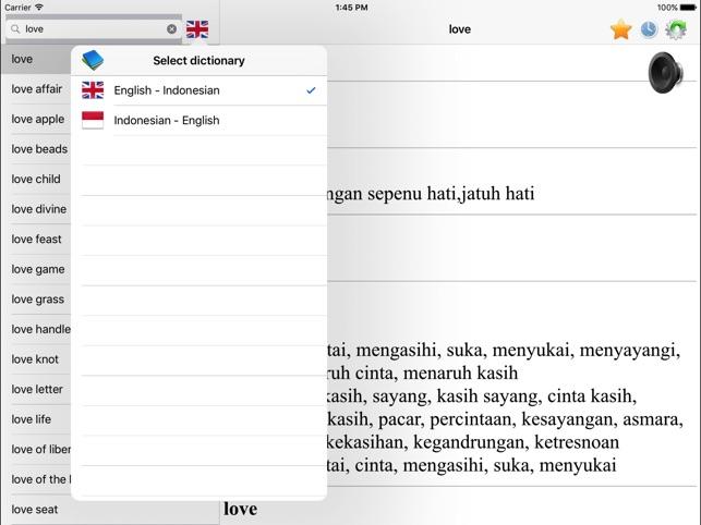 Indonesian english dictionary best translation on the app store stopboris Choice Image