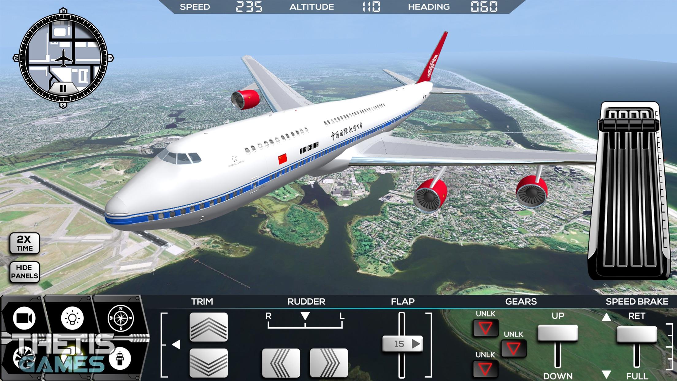 Flight Simulator FlyWings 2014 HD Screenshot