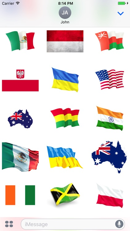 Best Flags Stickers