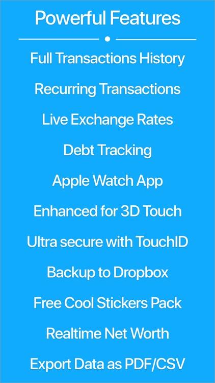 MoneyCoach - Expense Tracker, Bill Manager, Budget screenshot-3