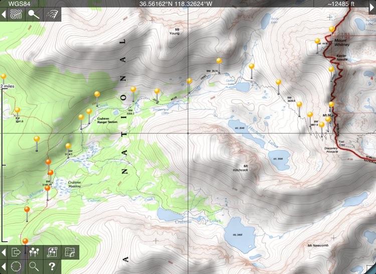 Topo Maps for iPad