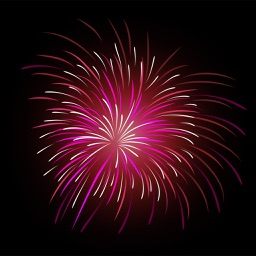 happy firework for iphone by thumbsoft