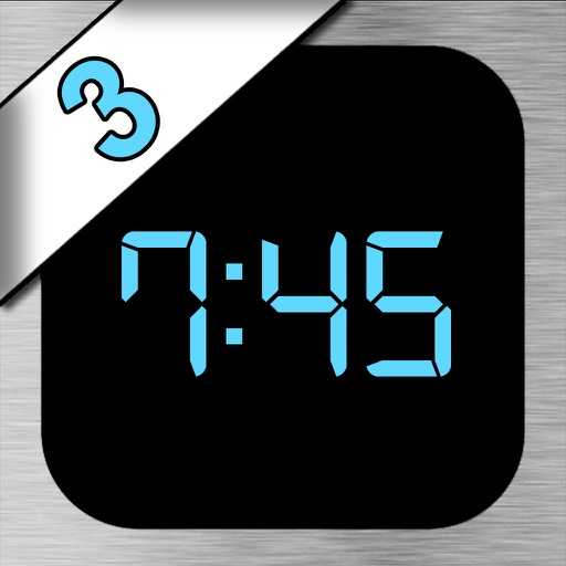 iDigital Big3 Alarm Clock - Largest Display Time