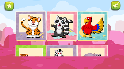 animals jigsaw puzzles : bedtime stories for kids screenshot one