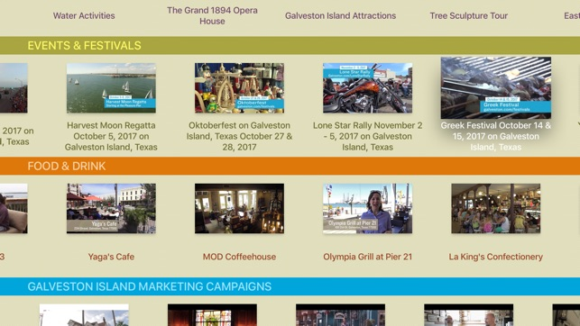 Galveston com TV on the App Store
