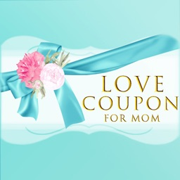 Love Coupon For Happy Mother's Day Stickers