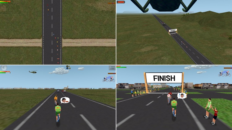Ciclis 3D Lite - The Cycling Simulator screenshot-3