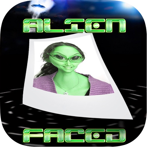 AlienFaced - The Alien Face Booth icon