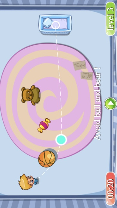 Candy Baby Puzzle screenshot one