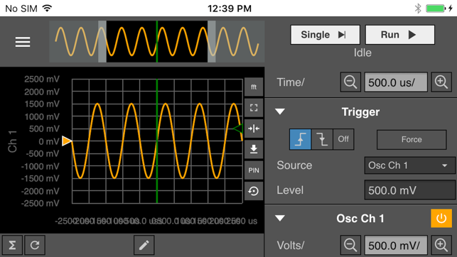 WaveForms Live on the App Store
