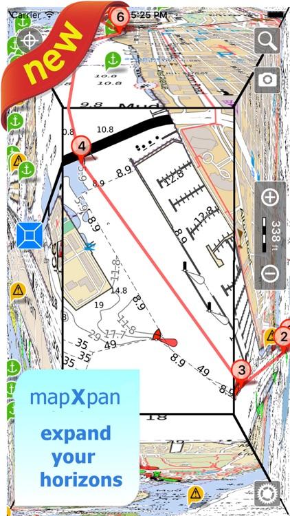 Aqua Map Maine ME Lakes HD - GPS Nautical Charts screenshot-0
