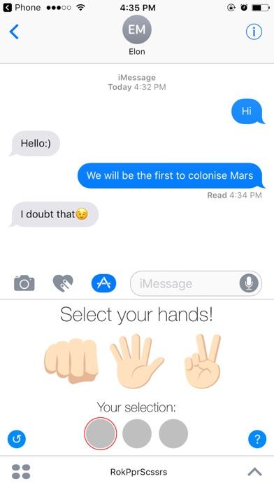 Rock Paper Scissors Challange Ihre FreundeScreenshot von 5