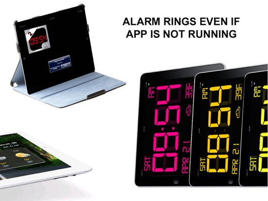 Screenshot #3 for iDigital Big2 Alarm Clock - Biggest Time Display