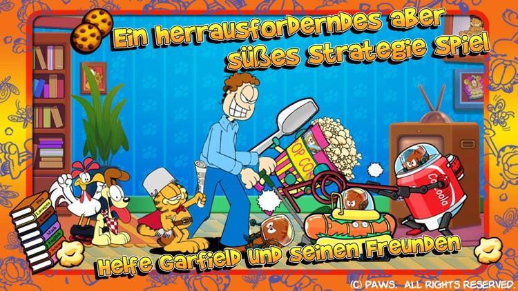 Garfields Verteidigung: Essens-Eindringlinge