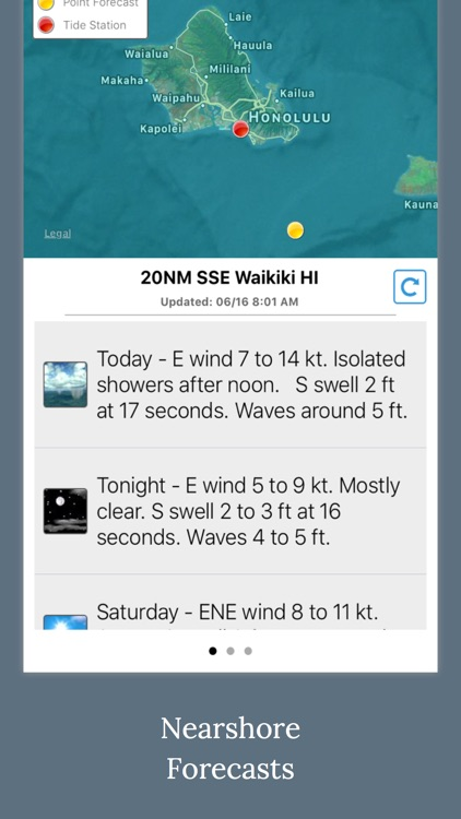 Fishing Weather - NOAA Wave, Tide & Wind Forecast screenshot-2