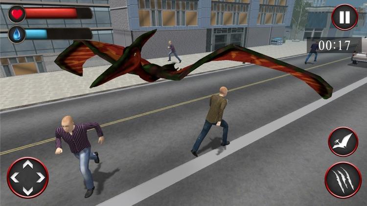 Pterodactyl Simulator: Dinosaurs in the City! screenshot-4