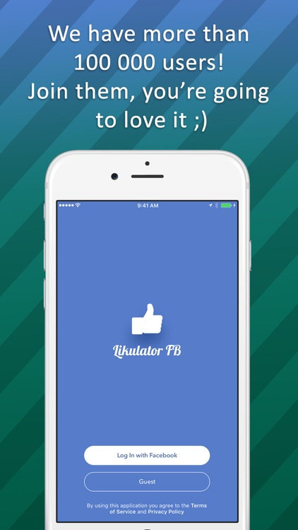 Likulator - likes counter for Facebook