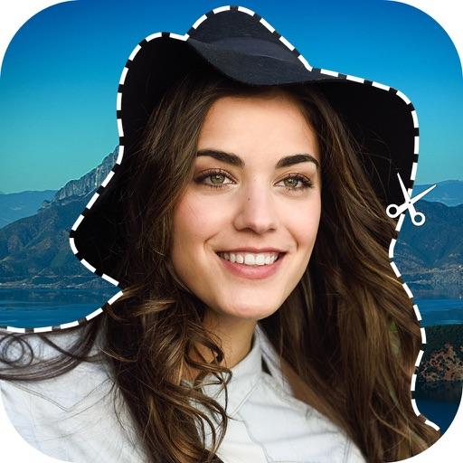 Cut And Paste Photo Eraser iOS App