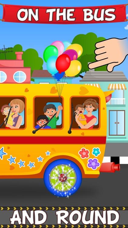 The Wheels On The Bus - Sing Along Nursery Rhyme
