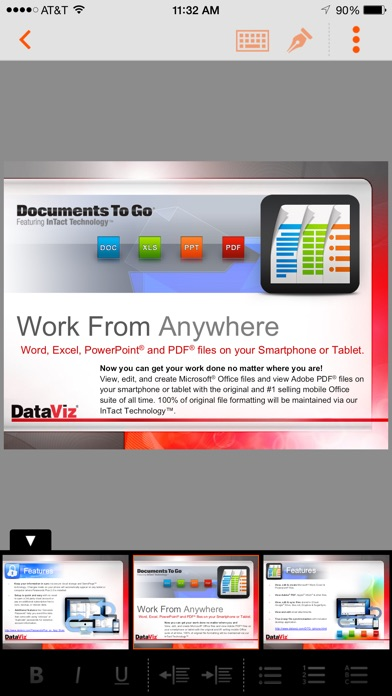 Screenshot for Docs To Go Premium in Austria App Store