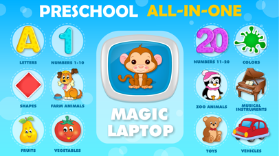 Baby learning: Toddler games for 1 2 3 4 year olds screenshot 1