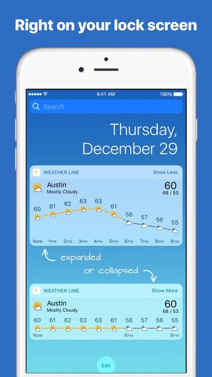 Weather Line - Visual Forecast