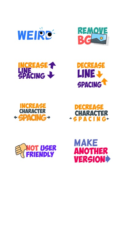 Design Feedback Sticker Pack screenshot-2