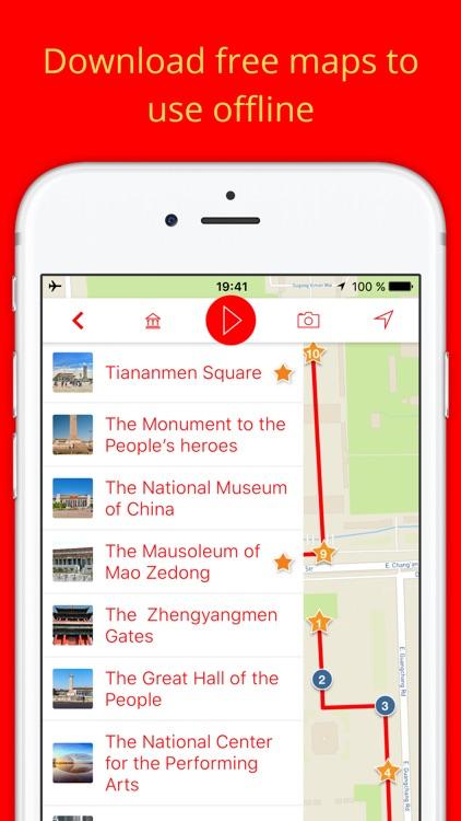 My Beijing - Audio-guide & offline map ( China ) screenshot-4
