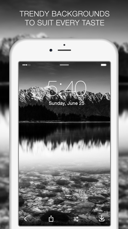 Black and White Wallpapers - HD Backgrounds screenshot-3