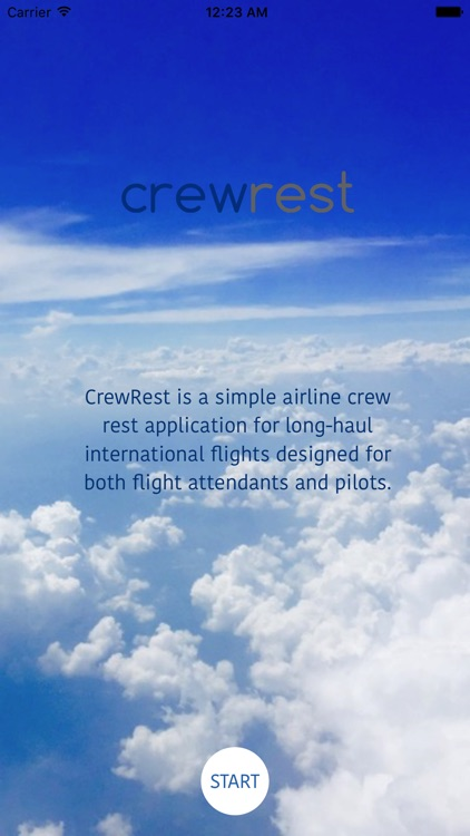 Inflight CrewRest