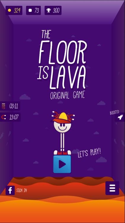 The Floor is LAVA - Original Game