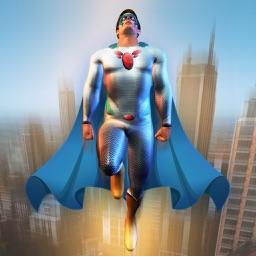 Flying Hero : Miami Town