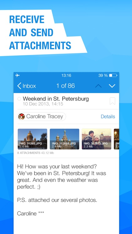 Mail.Ru – Email App screenshot-3