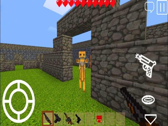 Pixel Block Gun 3D на iPad