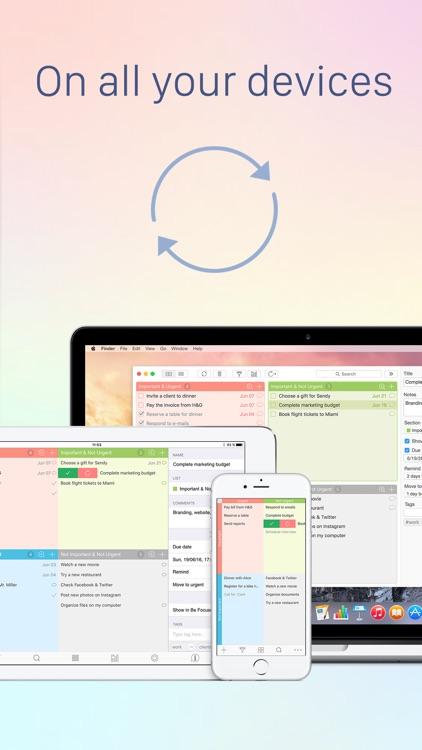 Focus Matrix – Task Manager and Eisenhower Box screenshot-4