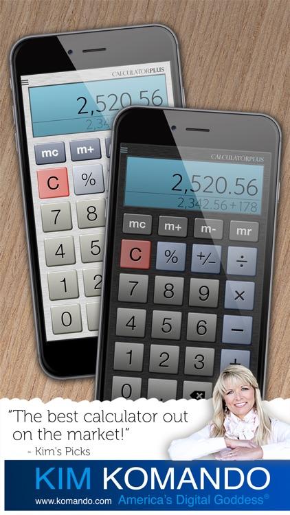 Calculator Plus - The World's Favorite Calculator