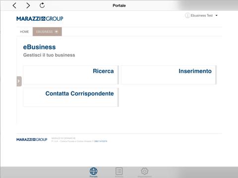 Marazzi Group Portal - náhled