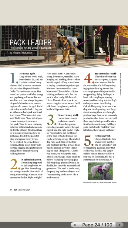 The Bark, the dog culture magazine HD screenshot-3