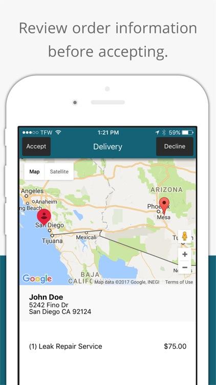 Leaky Plumbing Tech app image