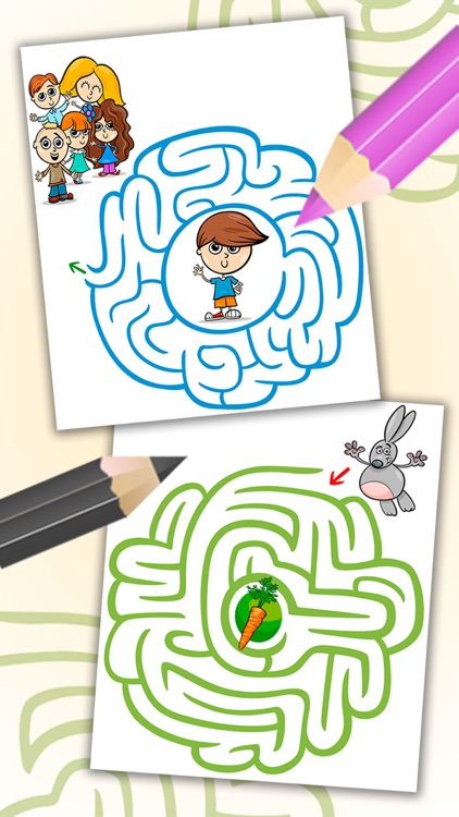 Mazes for kids and fun labyrinth brain games - Pro screenshot-4