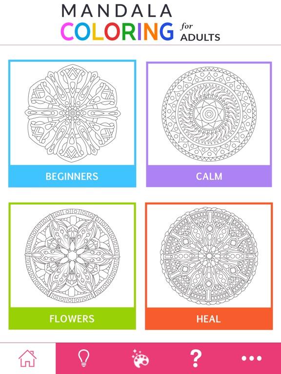 Mandala Coloring For Adults App Price Drops