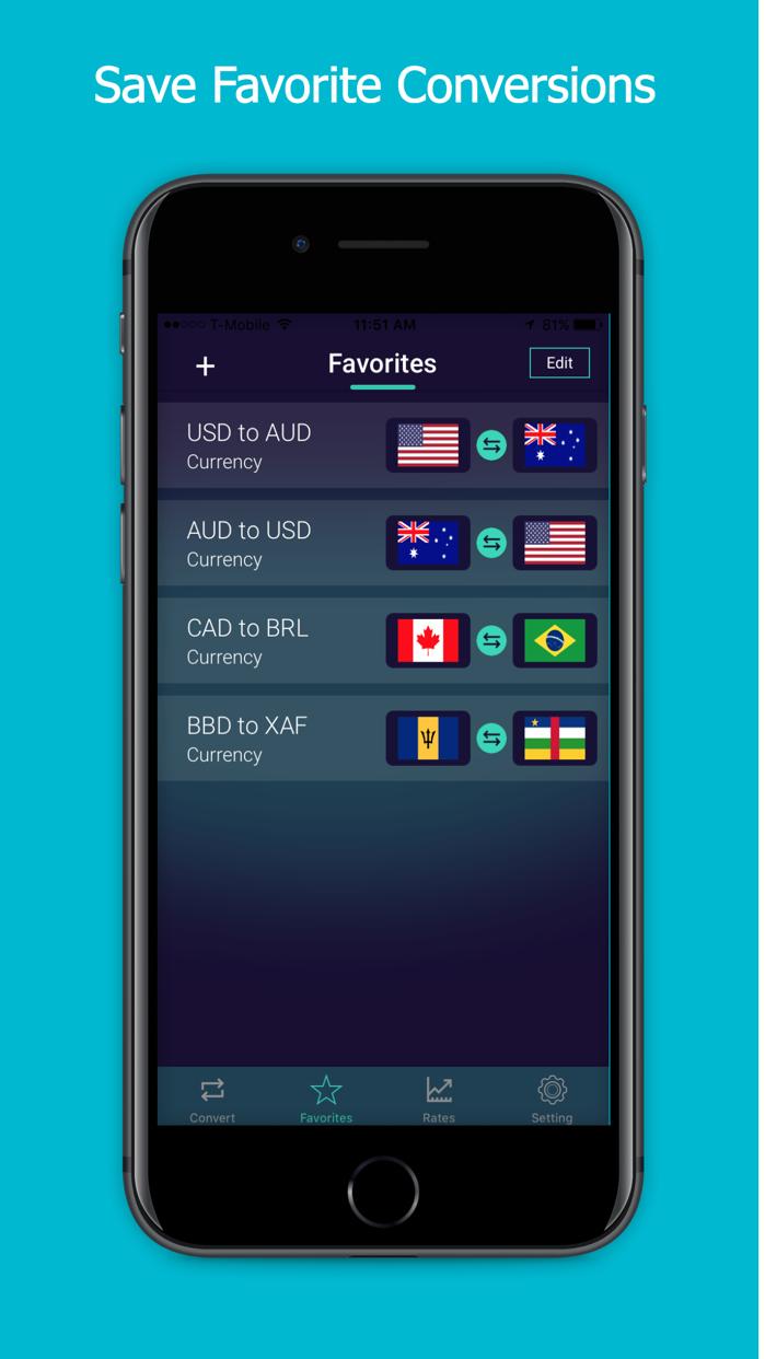 World Currency Converter FOREX Screenshot