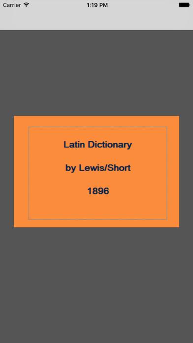 Latin-English (Lewis)のおすすめ画像1