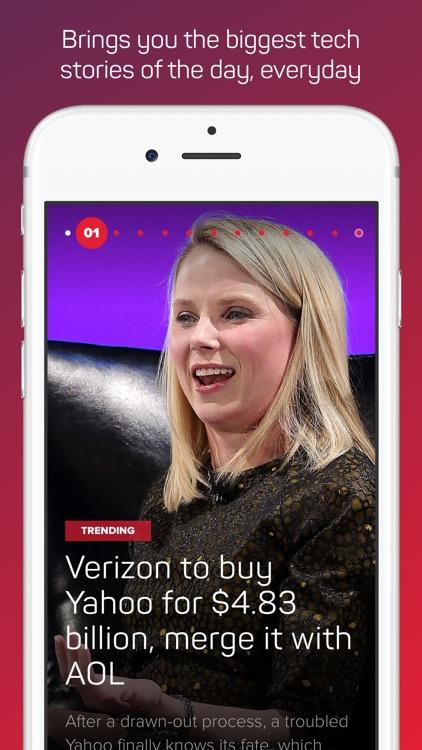 CNET's Tech Today - Technology News & Reviews screenshot-0