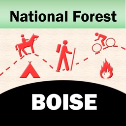 Boise National Forest – GPS Offline Map Navigator