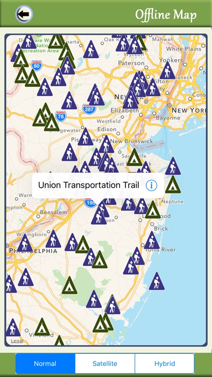 New Jersey Camping & Hiking Trails