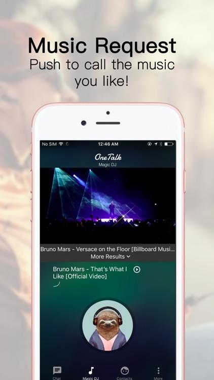 OneTalk Music Bot