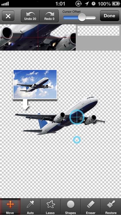 PhotoCut-Superimpose & Eraser screenshot-4