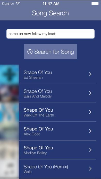Premium Search for Pandora Screenshot