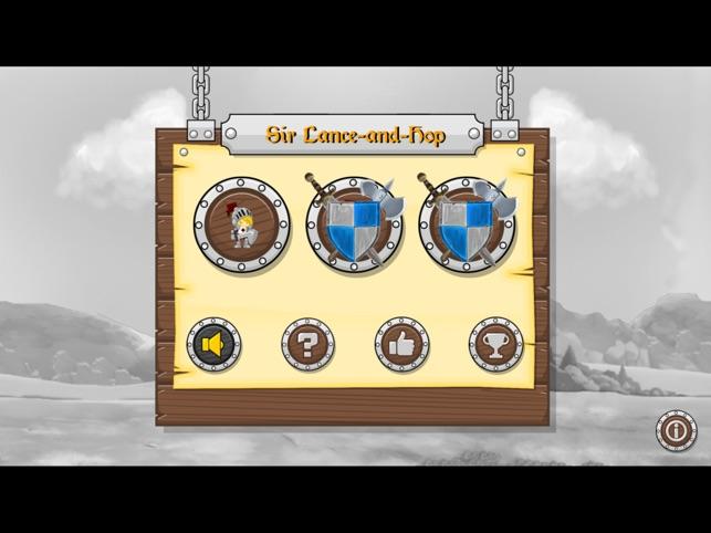 Sir Lance-and-Hop Screenshot